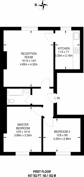 Floorplan of Lea Bridge Road, Clapton, E5 9QB